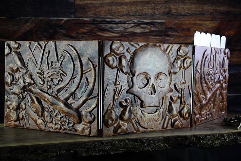 Red Oak Skulls Valhalla Screen