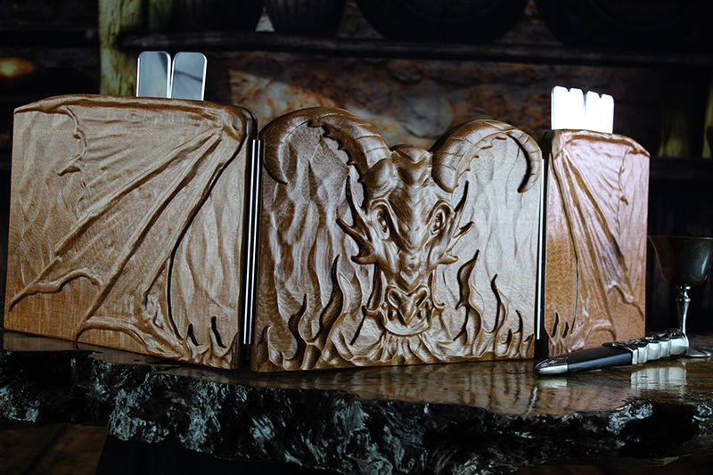 Leopardwood Dragon Valhalla Screen