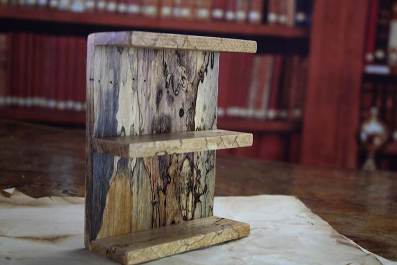 Spalted Tamarind Shelf Accessory