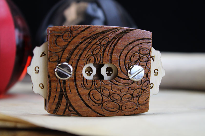 Leopardwood Tentacles Magnetic HP Tracker