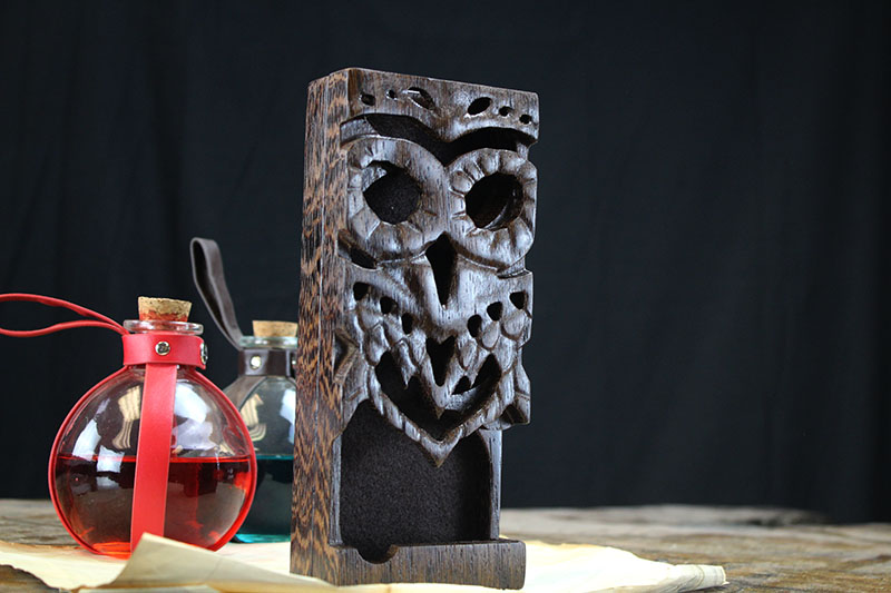 Wenge Owl Dice Tower