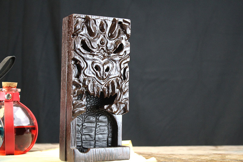 Wenge Dragon Dice Tower