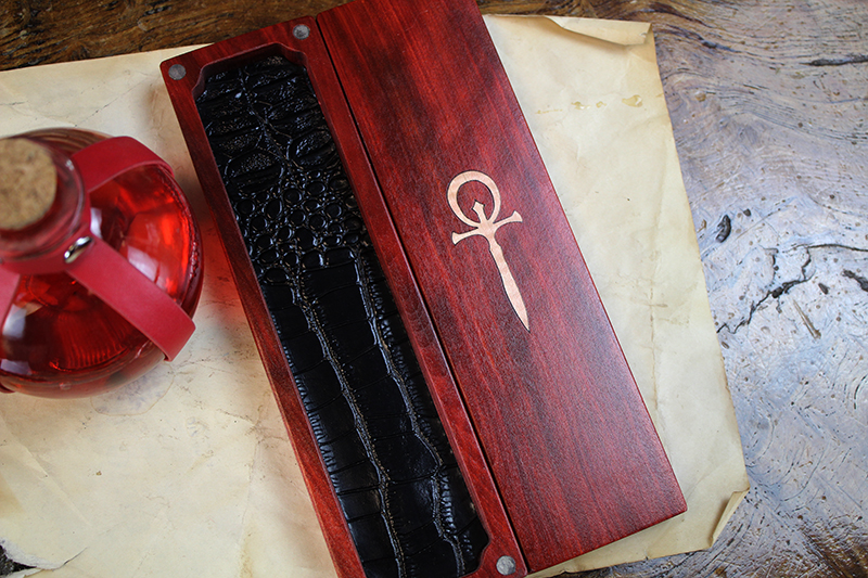 Blood Ankh Vampire Sheath