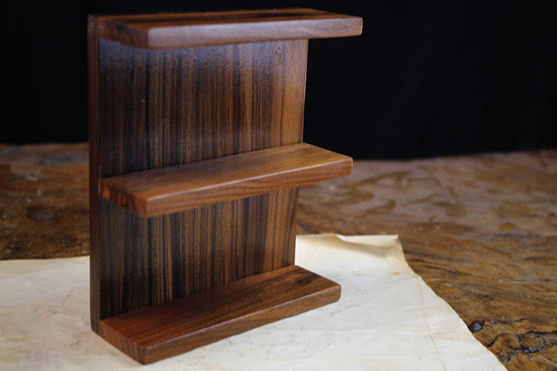 Bolivian Rosewood Shelf Accessory