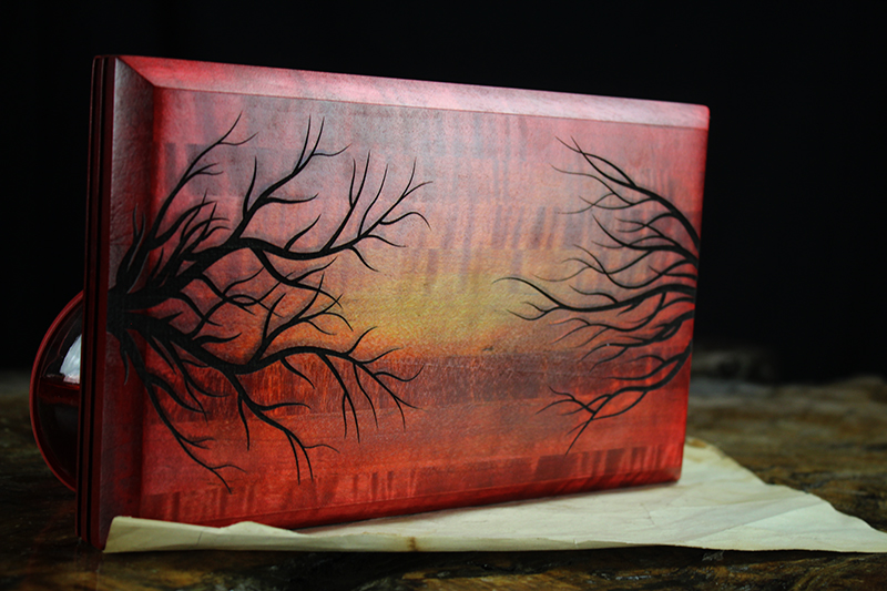 Sunset Branches Player Pad