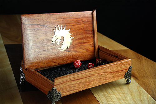 Dice Chest - Storage and Rolling for Dice