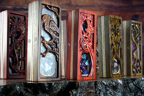 Dragon Glass - Bring your dice collection into the light