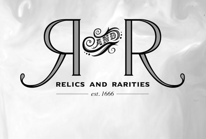 Relics & Rarities - Officially Licensed Gear