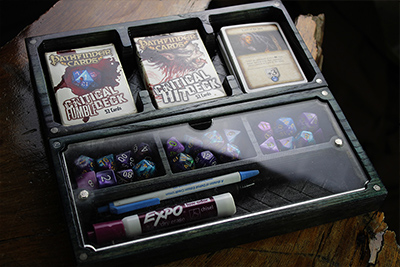 The Sentinel - Card, Board, and RPG Holder