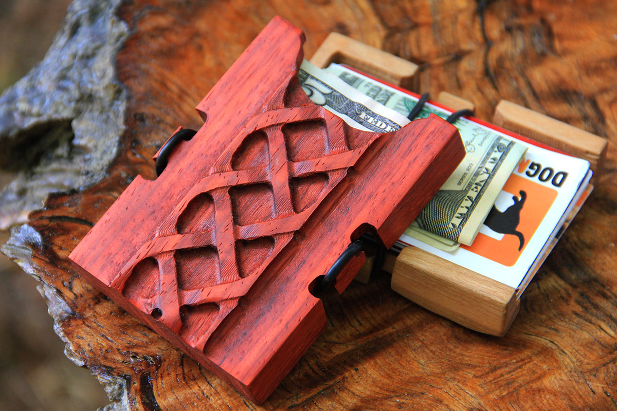 Wooden Wallets - Make Spending a Game