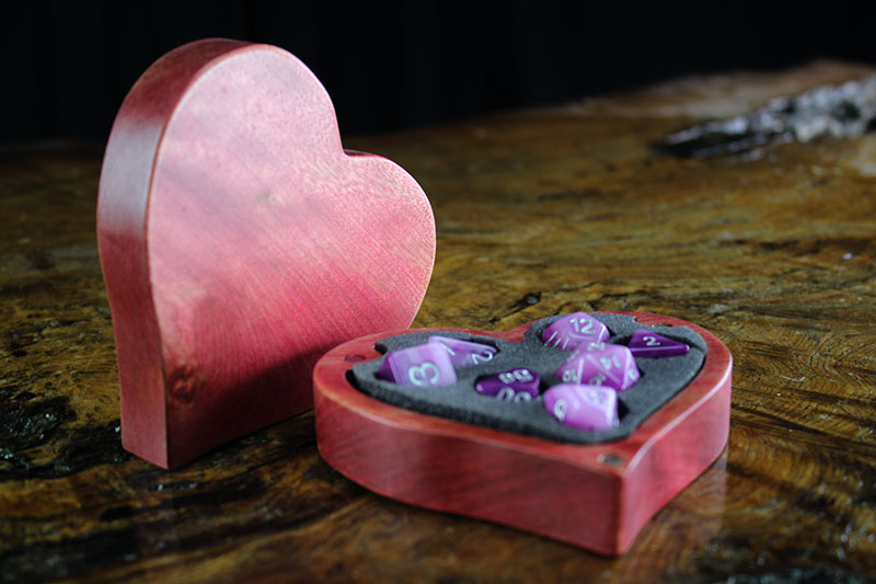 Pink Heart Theme Box
