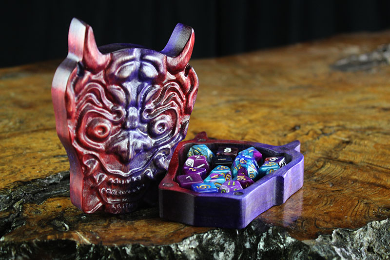 Imperial Ruby Oni Mask Theme Box