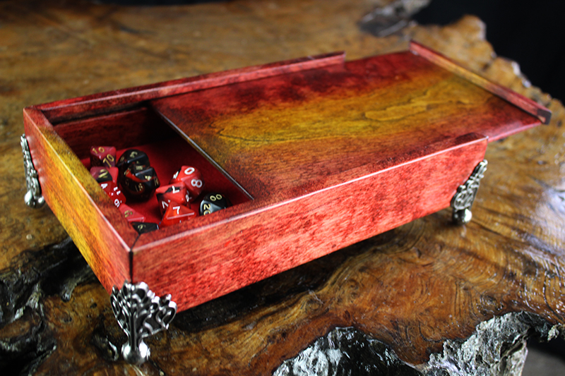 Sunburst Dice Chest