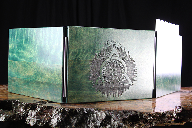 Kickstarter Green Vegvisir Valhalla Screen