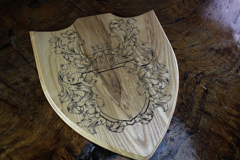 White Ash Game Room Crest