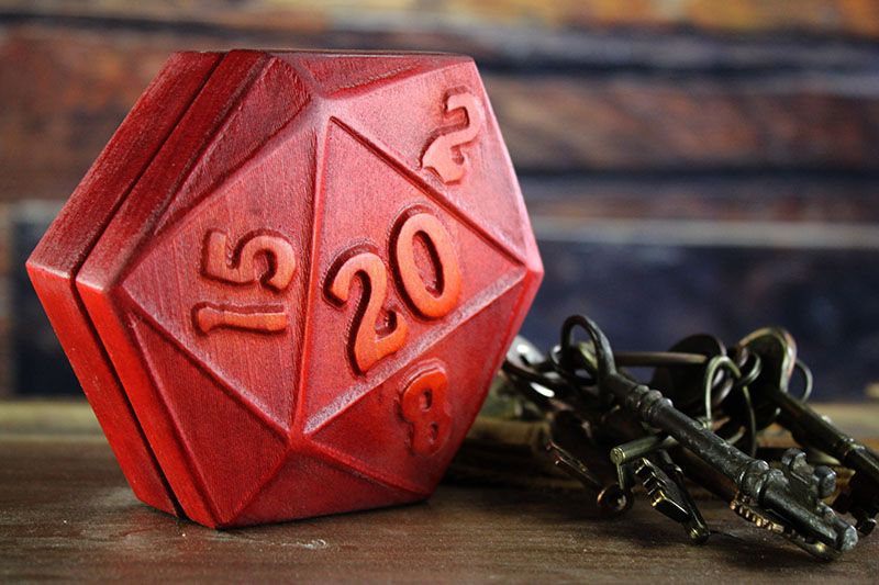 Sunburst D20 Theme Box