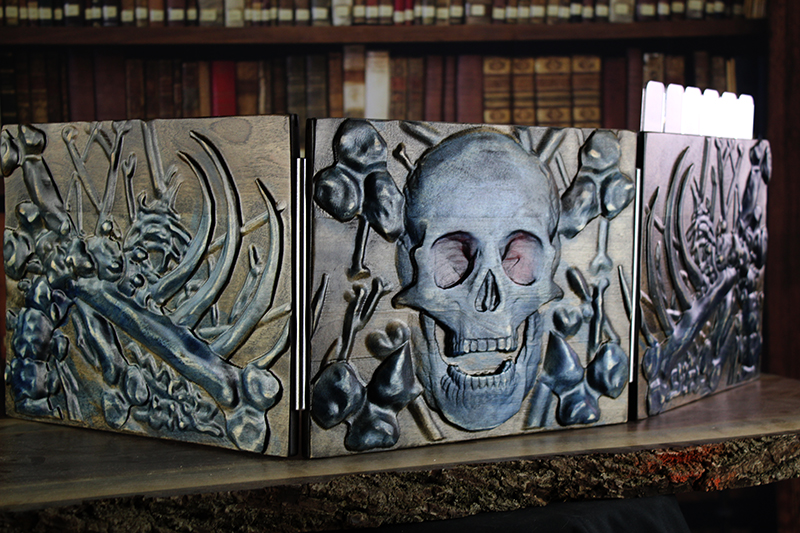Selectively Stained Skull Valhalla Screen
