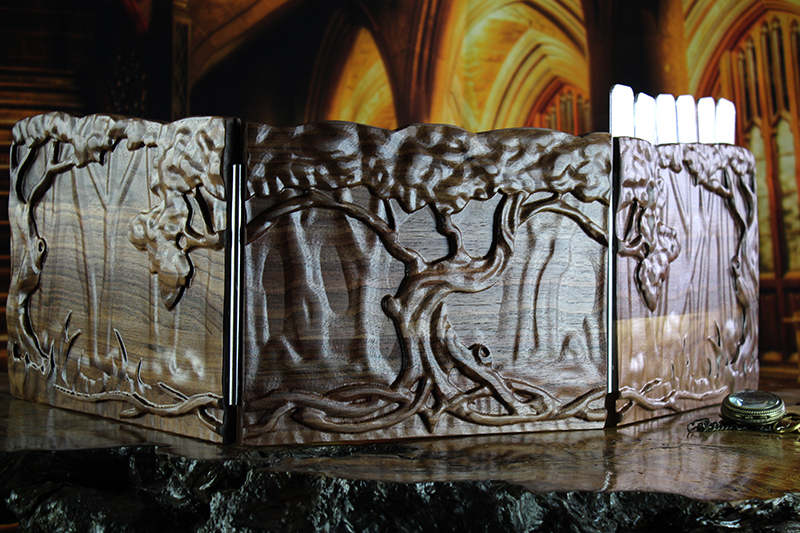 Walnut Yggdrasil Valhalla Screen
