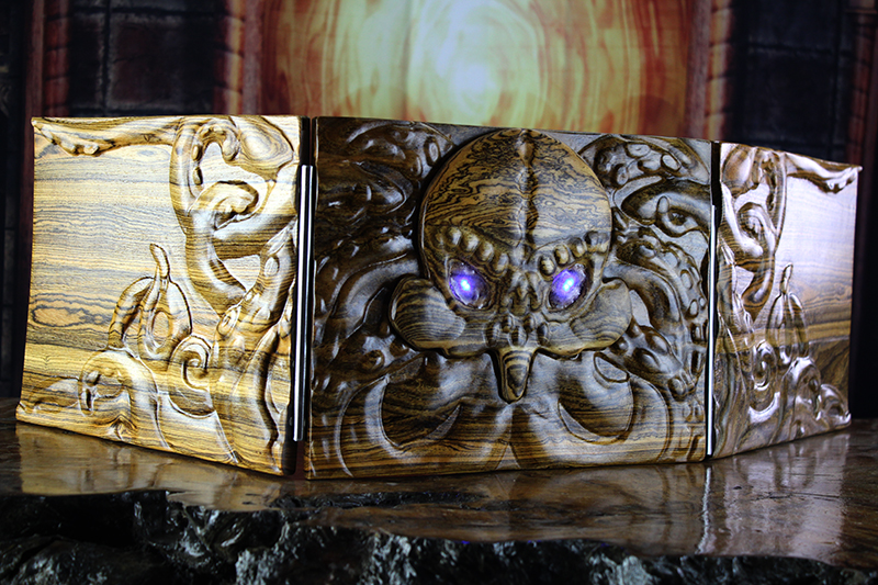 LED Bocote Cthulhu Valhalla Screen