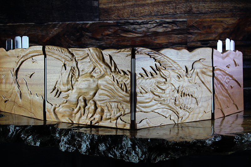 African Mahogany Flying Wyrm Valhalla Screen