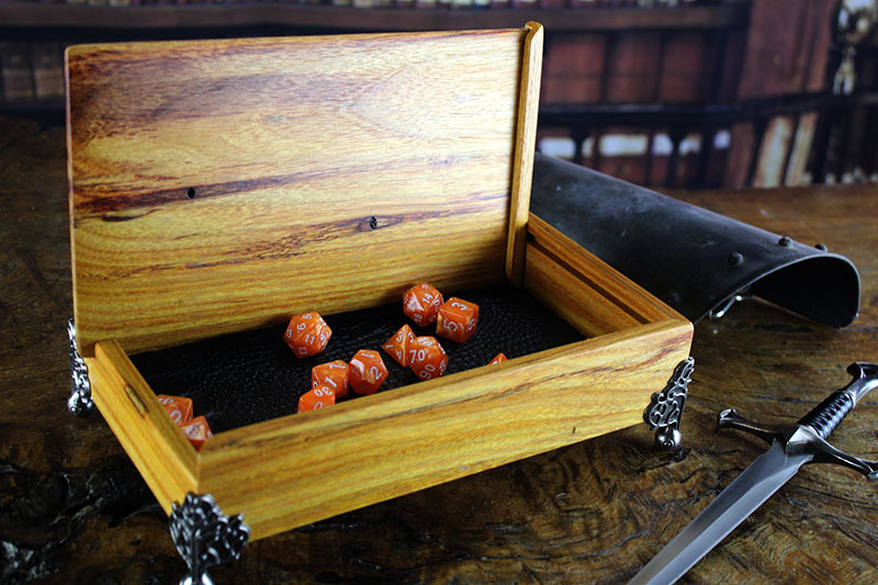 Canarywood Dice Chest