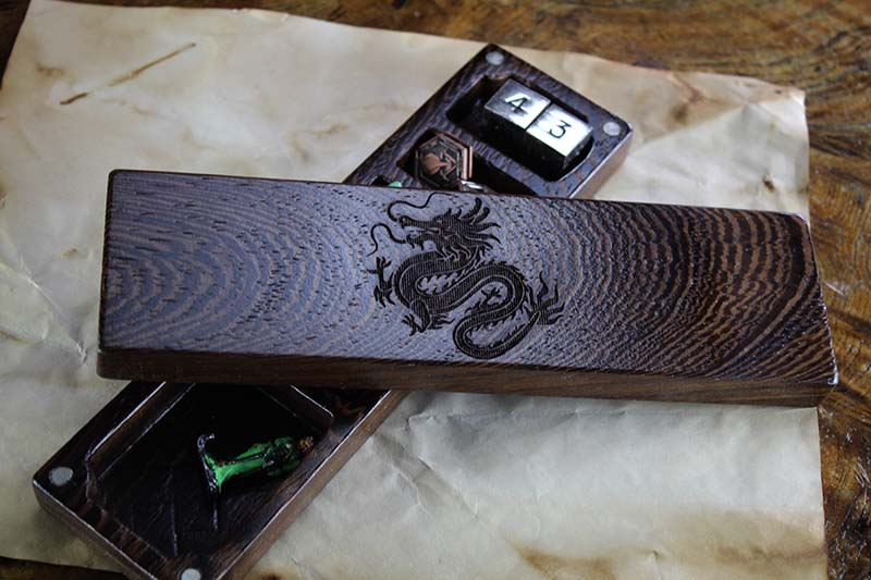 Wenge Eastern Dragon Dragon Sheath