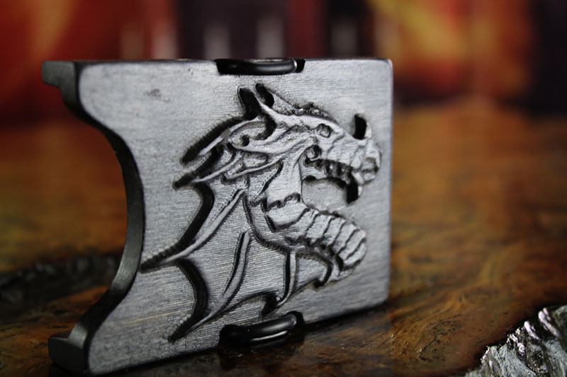 Abyssal Black Dragon Wallet