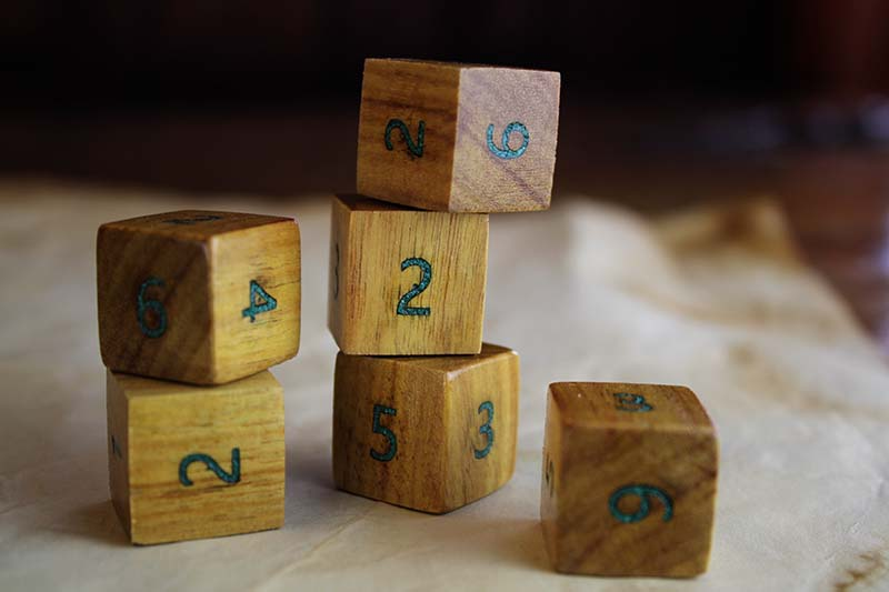 Canarywood D6 Set of 6