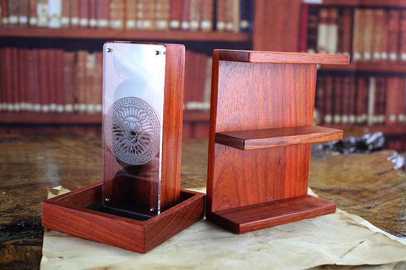 Padauk Dice Tower & Shelf Accessory Pack