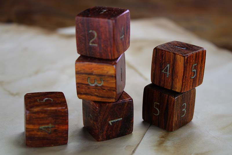 Cocobolo D6 Set of 6