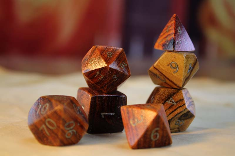 Cocobolo Polyhedral Set