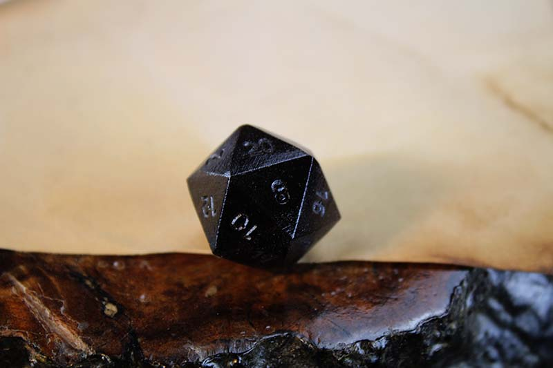 Striped Indian Ebony D20