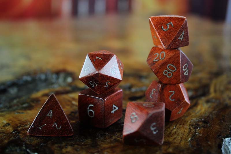 Bloodwood Polyhedral Set