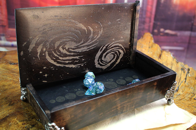Abyssal Black Galactic Dice Chest