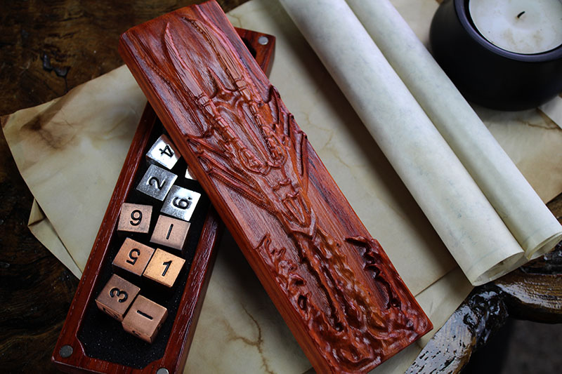 Padauk Fire Dragon Dragon Sheath