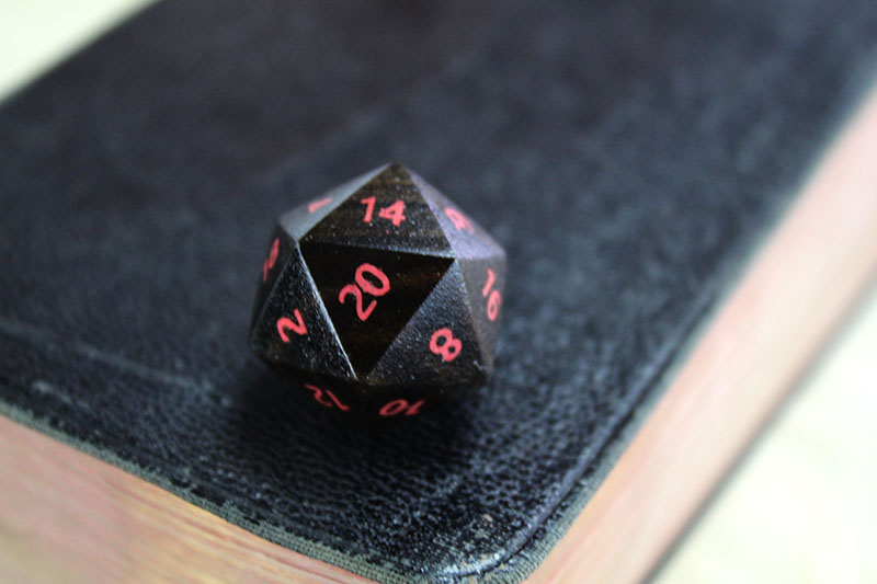 Mexican Ebony D20