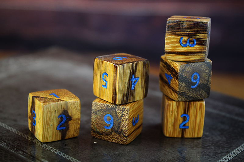 Marblewood D6 Set of 6