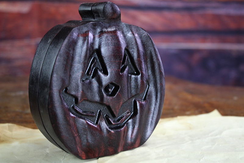Demons Blood Pumpkin Theme Box