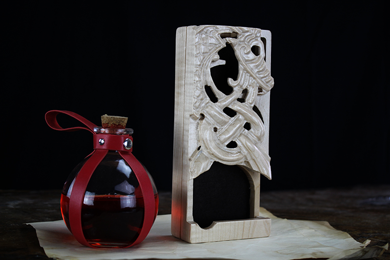 Maple Ouroboros Dice Tower