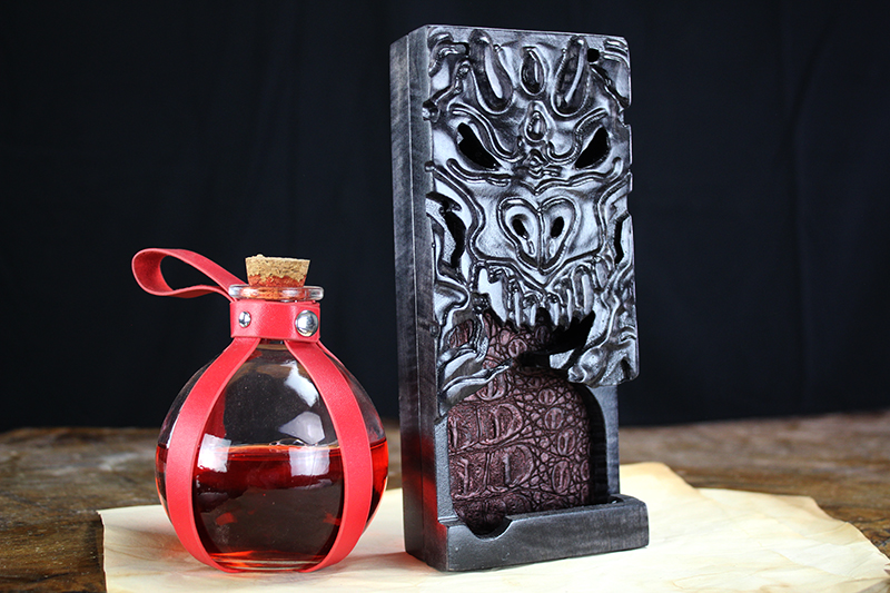 Abyssal Black Dragon Dice Tower