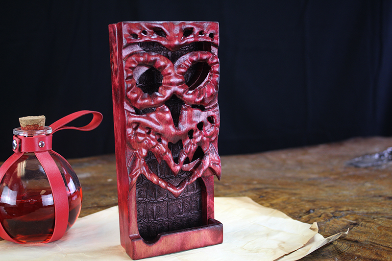Demons Blood Owl Dice Tower