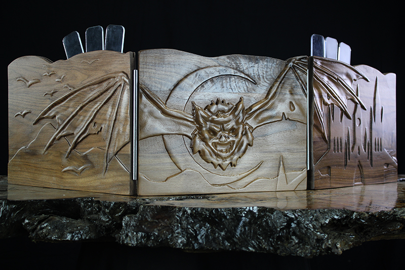 Black Walnut Bat Valhalla Screen