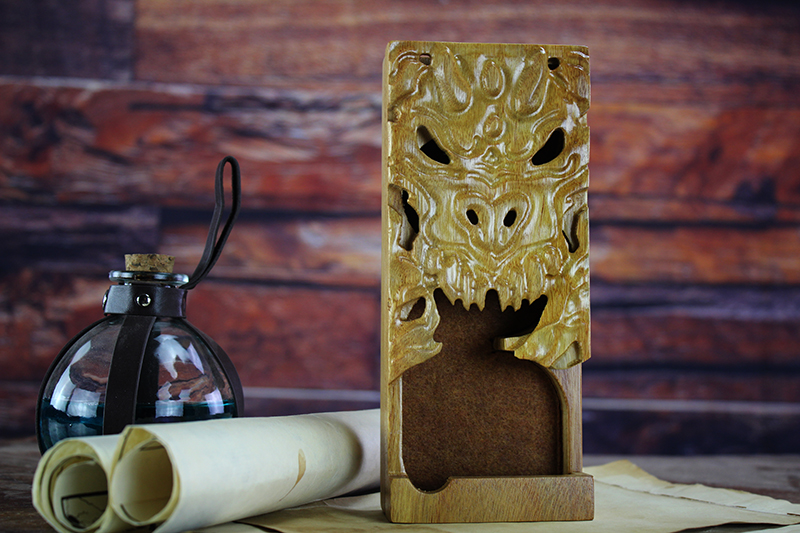 Canarywood Dragon Dice Tower