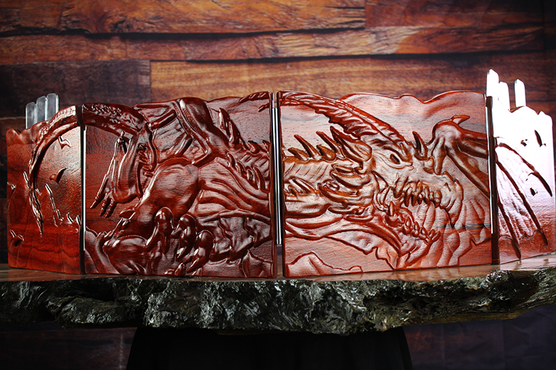 Padauk Flying Wyrm Valhalla Screen