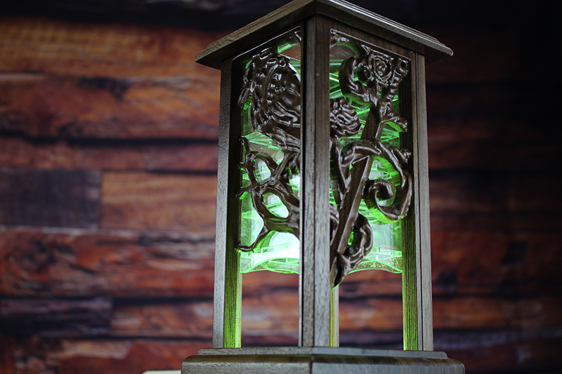 Black Walnut Lantern