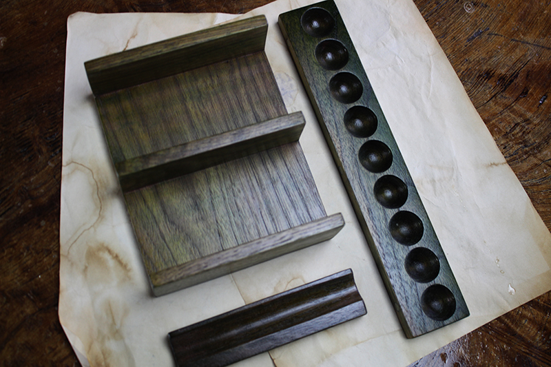 Black Walnut Valhalla Screen Accessories Pack