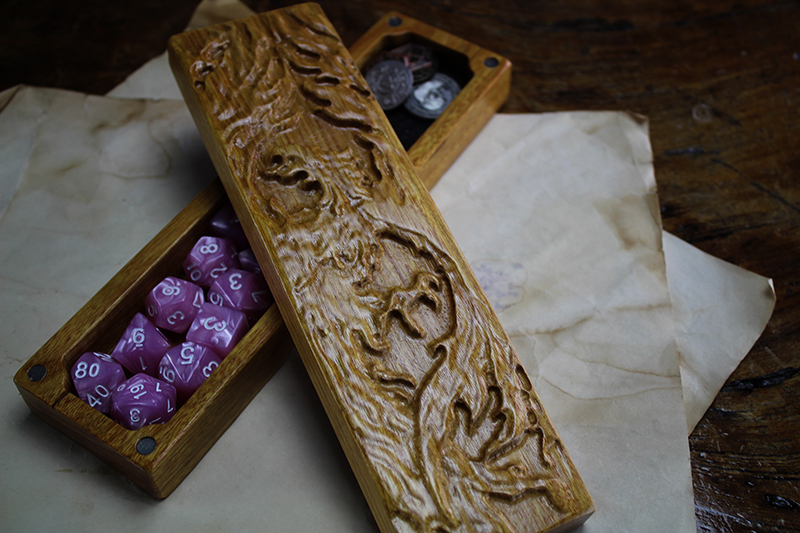 Canarywood Phoenix Dragon Sheath