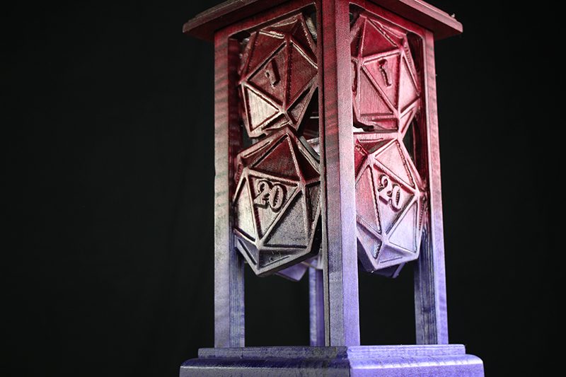 Imperial Ruby D20s Lantern
