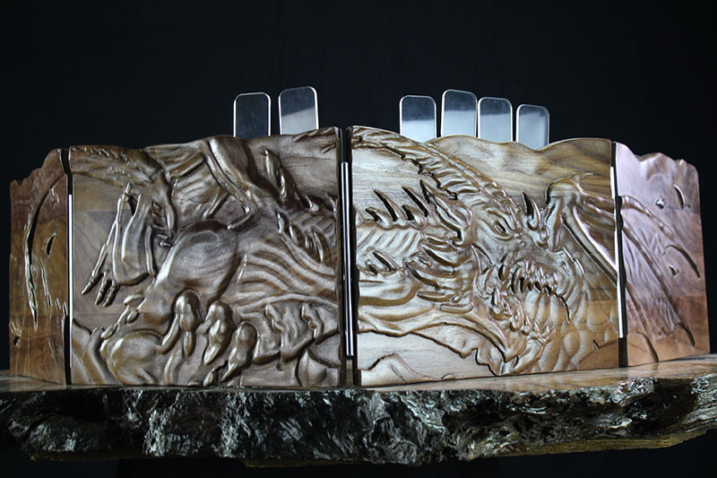 Black Walnut Flying Wyrm Valhalla Screen