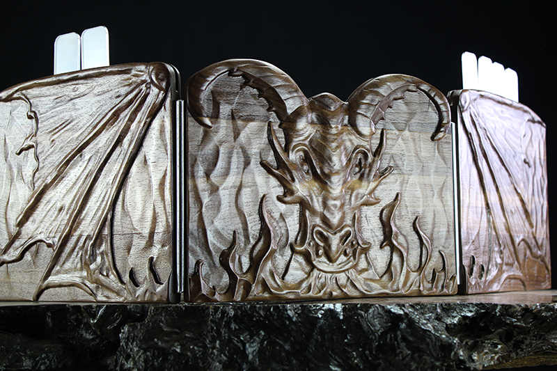 Black Walnut Dragon Valhalla Screen